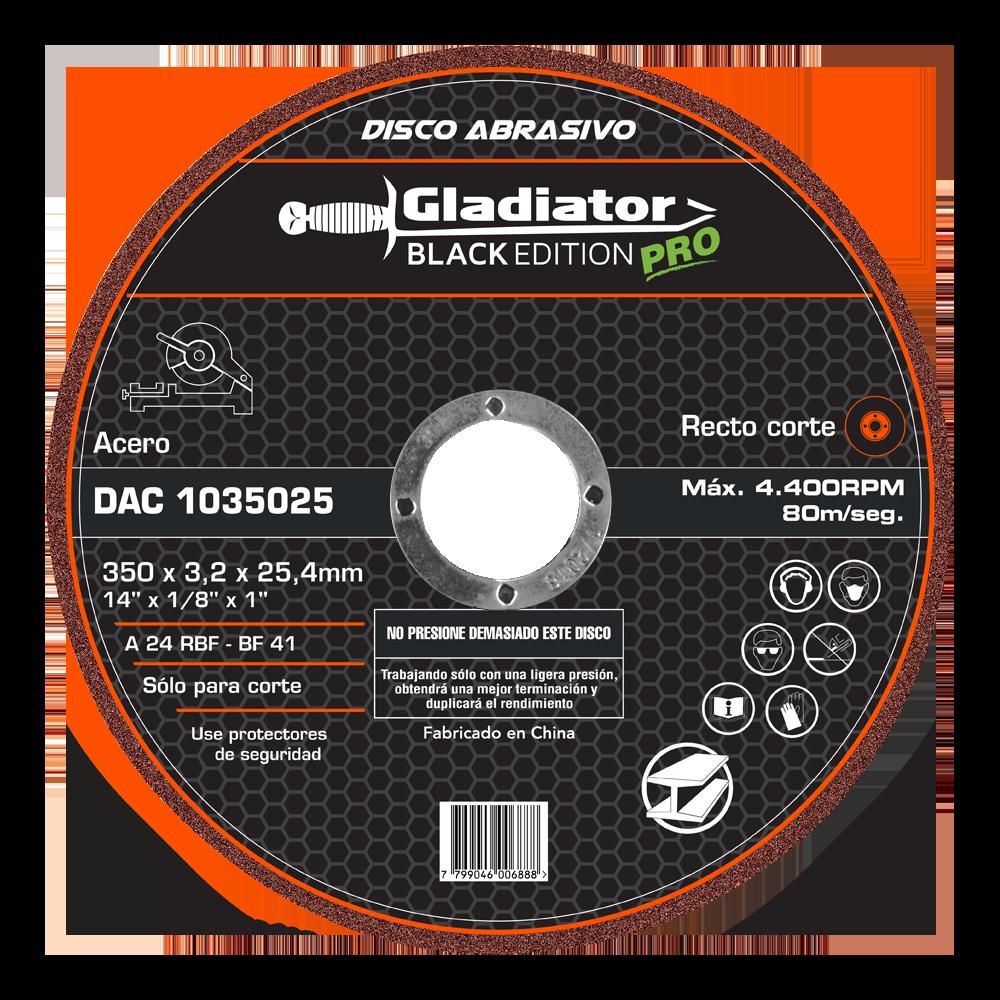 Disco de corte gladiator